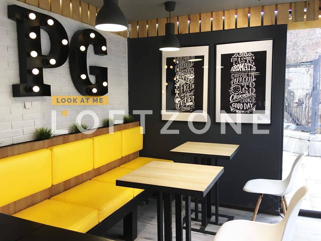 Отчет о работе LOFTZONE | Новый Fast-Food в стиле LOFT — «Papa Grill»